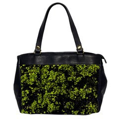 Nature Dark Camo Print Oversize Office Handbag (2 Sides)