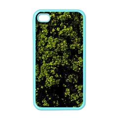 Nature Dark Camo Print Iphone 4 Case (color)
