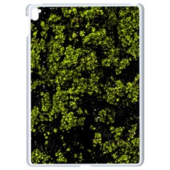 Nature Dark Camo Print Apple Ipad Pro 9 7   White Seamless Case