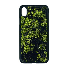 Nature Dark Camo Print Iphone Xr Seamless Case (black)