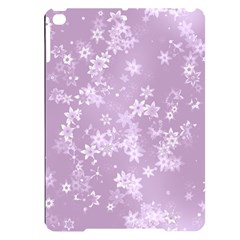 Lavender And White Flowers Apple Ipad Pro 9 7   Black Uv Print Case by SpinnyChairDesigns
