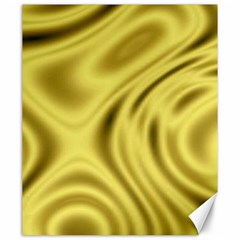 Golden Wave Canvas 20  X 24  by Sabelacarlos