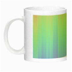 Pastel Rainbow Gradient Night Luminous Mugs by SpinnyChairDesigns
