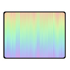 Pastel Rainbow Gradient Fleece Blanket (small) by SpinnyChairDesigns