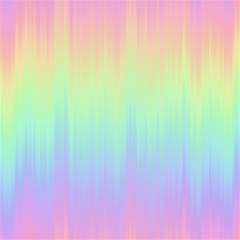 Pastel Rainbow Gradient Magic Photo Cube by SpinnyChairDesigns