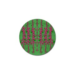 Lianas Of Sakura Branches In Contemplative Freedom Golf Ball Marker (10 Pack) by pepitasart
