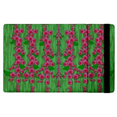 Lianas Of Sakura Branches In Contemplative Freedom Apple Ipad 3/4 Flip Case by pepitasart