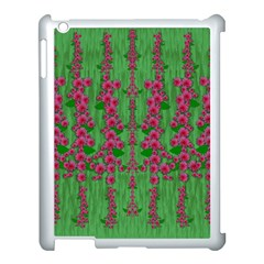 Lianas Of Sakura Branches In Contemplative Freedom Apple Ipad 3/4 Case (white) by pepitasart