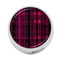 Pink Black Punk Plaid 4-port Usb Hub (one Side) by SpinnyChairDesigns