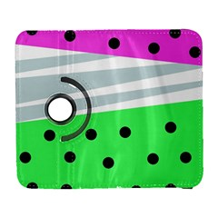 Dots And Lines, Mixed Shapes Pattern, Colorful Abstract Design Samsung Galaxy S  Iii Flip 360 Case by Casemiro