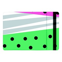 Dots And Lines, Mixed Shapes Pattern, Colorful Abstract Design Apple Ipad Pro 10 5   Flip Case by Casemiro
