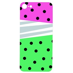 Dots And Lines, Mixed Shapes Pattern, Colorful Abstract Design Iphone 7/8 Soft Bumper Uv Case by Casemiro