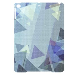 Light Blue Green Grey Dotted Abstract Apple Ipad Pro 9 7   Black Uv Print Case