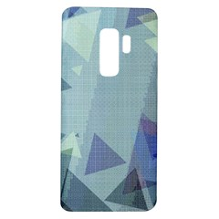 Light Blue Green Grey Dotted Abstract Samsung Galaxy S9 Plus Tpu Uv Case
