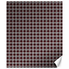 Red Halloween Spider Tile Pattern Canvas 8  X 10  by snowwhitegirl