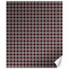 Red Halloween Spider Tile Pattern Canvas 20  X 24