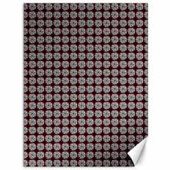 Red Halloween Spider Tile Pattern Canvas 36  X 48