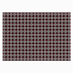 Red Halloween Spider Tile Pattern Large Glasses Cloth by snowwhitegirl