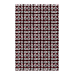 Red Halloween Spider Tile Pattern Shower Curtain 48  X 72  (small)