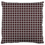 Red Halloween Spider Tile Pattern Large Cushion Case (Two Sides) Front