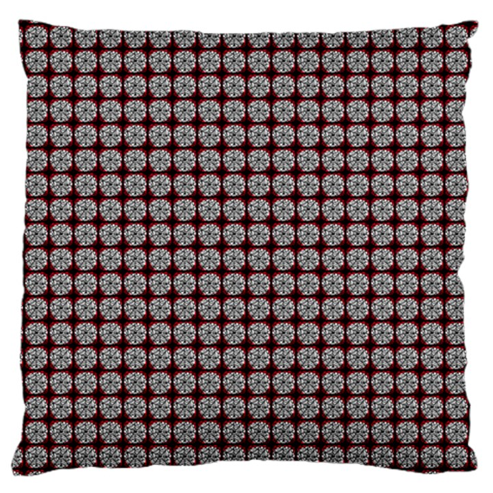 Red Halloween Spider Tile Pattern Large Cushion Case (Two Sides)
