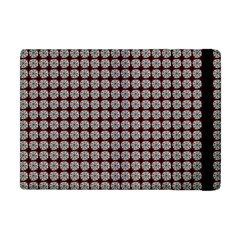 Red Halloween Spider Tile Pattern Apple Ipad Mini Flip Case by snowwhitegirl