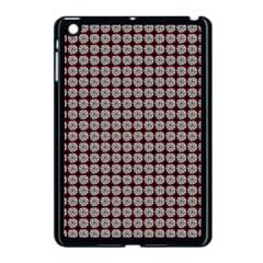 Red Halloween Spider Tile Pattern Apple Ipad Mini Case (black) by snowwhitegirl