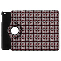Red Halloween Spider Tile Pattern Apple Ipad Mini Flip 360 Case by snowwhitegirl