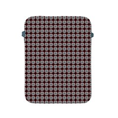 Red Halloween Spider Tile Pattern Apple Ipad 2/3/4 Protective Soft Cases by snowwhitegirl