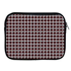 Red Halloween Spider Tile Pattern Apple Ipad 2/3/4 Zipper Cases by snowwhitegirl