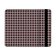 Red Halloween Spider Tile Pattern Samsung Galaxy Tab Pro 8 4  Flip Case by snowwhitegirl