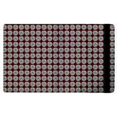 Red Halloween Spider Tile Pattern Apple Ipad Pro 9 7   Flip Case by snowwhitegirl