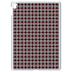 Red Halloween Spider Tile Pattern Apple Ipad Pro 9 7   White Seamless Case by snowwhitegirl