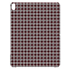 Red Halloween Spider Tile Pattern Apple Ipad Pro 12 9   Black Uv Print Case by snowwhitegirl