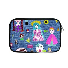 Blue Denim And Drawings Apple MacBook Pro 13  Zipper Case