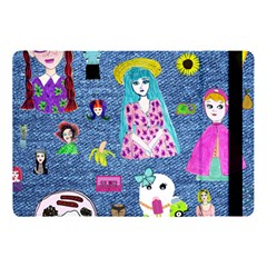 Blue Denim And Drawings Apple iPad Pro 10.5   Flip Case