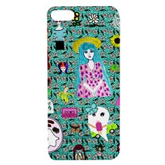 Blue Denim And Drawings Daisies Aqua Apple Iphone 7/8 Tpu Uv Case