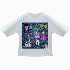 Blue Denim And Drawings Daisies Infant/toddler T-shirts