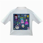 Blue Denim And Drawings Daisies Infant/Toddler T-Shirts Back