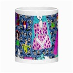 Blue Denim And Drawings Daisies Morph Mugs Center