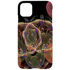 Fractal Geometry Iphone 11 Black Uv Print Case by Sparkle