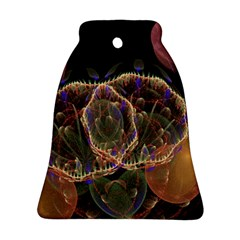 Fractal Geometry Bell Ornament (two Sides) by Sparkle