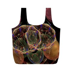 Fractal Geometry Full Print Recycle Bag (m)