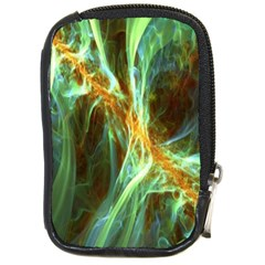 Abstract Illusion Compact Camera Leather Case