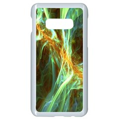 Abstract Illusion Samsung Galaxy S10e Seamless Case (white) by Sparkle