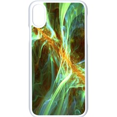 Abstract Illusion Iphone Xs Seamless Case (white) by Sparkle