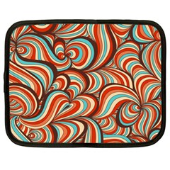 Psychedelic Swirls Netbook Case (xl) by Filthyphil