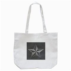 Star Grey Tote Bag (white)