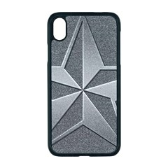 Star Grey Iphone Xr Seamless Case (black)