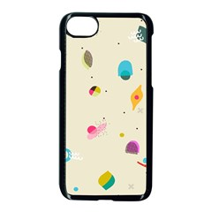 Dots, Spots, And Whatnot Iphone 8 Seamless Case (black)